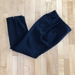 Pull-on easy pant in matte crepe